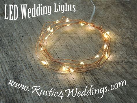 led lights battery operated string lights wedding