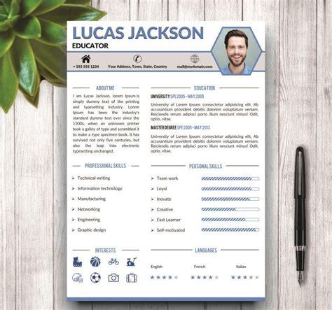 Free Stylish Resume Templates by Stylish Resume Template For Ms Word Resume Templates