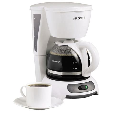 Shop Mr. Coffee White 4 Cup Coffee Maker at Lowes.com
