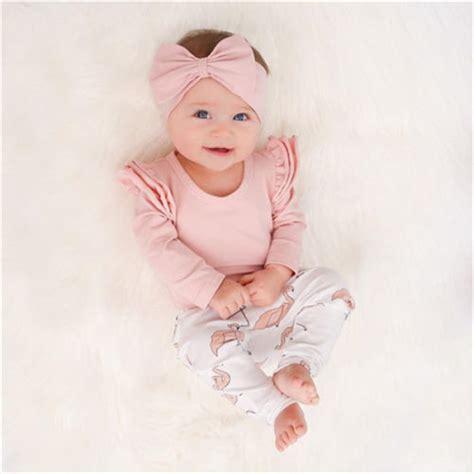 pcs set cute baby girl clothes  spring toddler kids