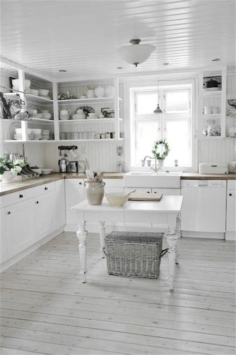 all white kitchen 35 cozy and chic farmhouse kitchen d 233 cor ideas digsdigs