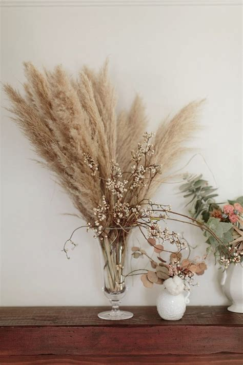 ways  decorate  dried flowers glitter guide