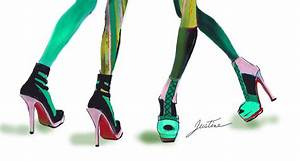 Drawing High Heels | Justine Limpus Parish's Blog