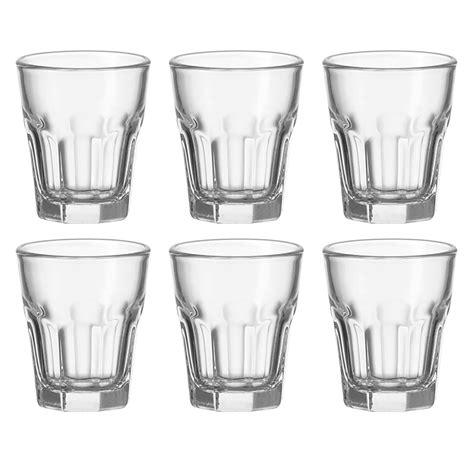 leonardo set de 6 verres 224 eau de vie rock 012994 achat