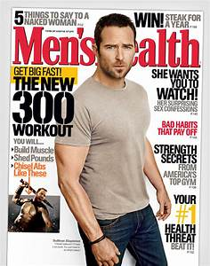 Sullivan Stapleton Covers Men's Health Magazine's April ...