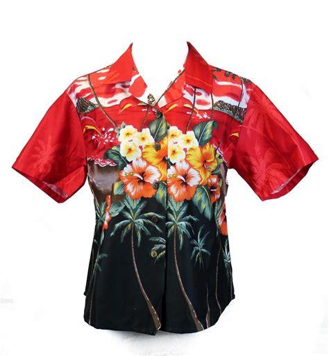 womens hawaiian shirts blouses aloha shirt blouse cruise luau hawaiian