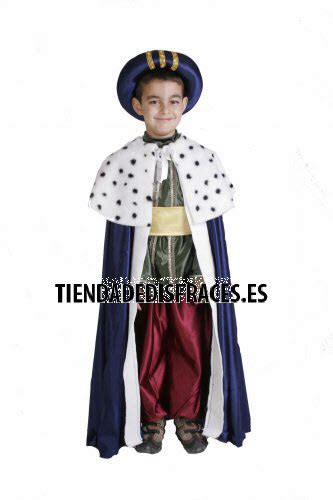 disfraz de mago baltasar infantil 5 a 7 a 241 os talla 2