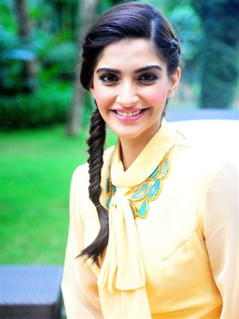 sonam kapoor hairstyles pictures  krazy fashion rocks