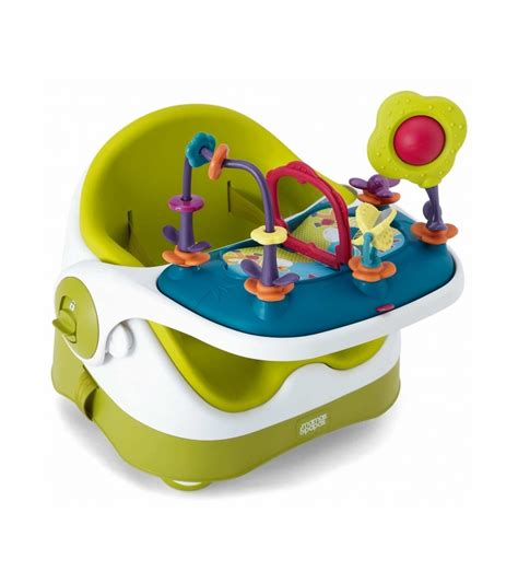 siege bebe bumbo mamas papas baby bud booster seat activity tray lime