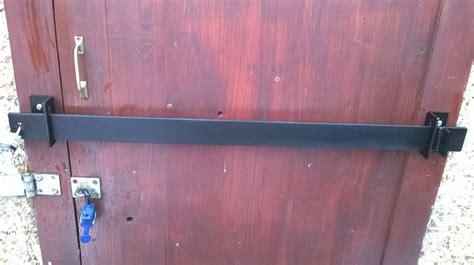 door bar lock garden shed security bar garage office door factory