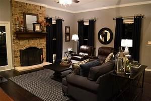Ralph Lauren style living room