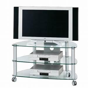 Table Pour Tv : table roulettes pour tv mod le catrina aluminium ~ Teatrodelosmanantiales.com Idées de Décoration