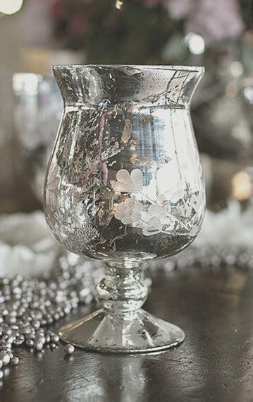 mercury glass vase mercury glass vase fluted