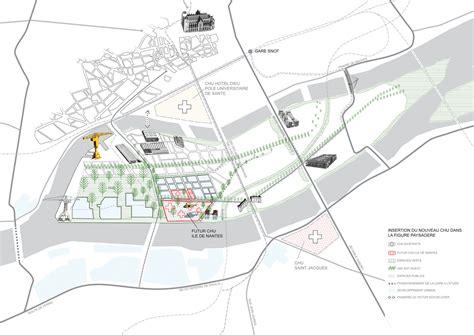 site web du chu de nantes projet 206 le de nantes quatre 233 quipes d architectes en lice