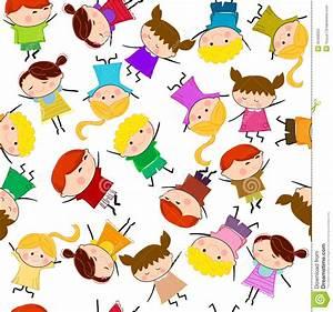 Kids Seamless Pattern Background Royalty Free Stock Photo ...