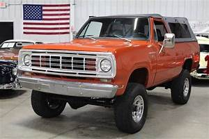1976 Dodge Ramcharger 66565 Miles Orange Suv 5 9l Cummins