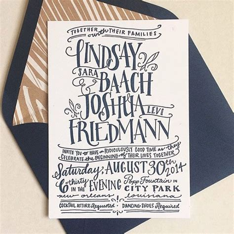 10 Swoon Worthy Letterpress Invitations + Giveaway