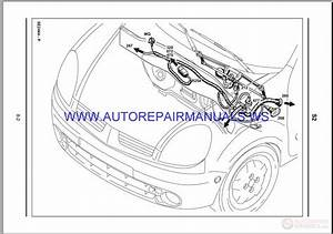 Renault Megane 2006 Workshop Wiring Diagram