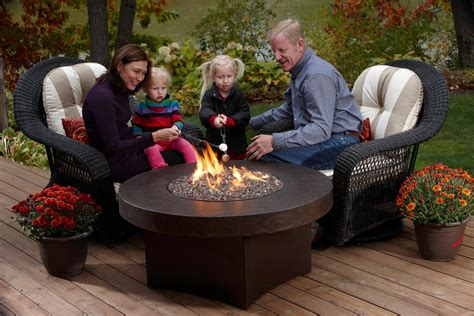 tabletop gas fire pit fireplace design ideas
