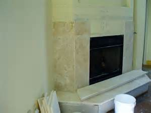 Installing Marble Fireplace Surround by Installing A Marble Travertine Granite Or Slate