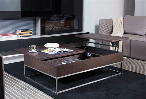 Available in bespoke sizes and colours. Modrest P509A Contemporary Brown Oak Coffee Table - Modern Coffee Tables - Living Room