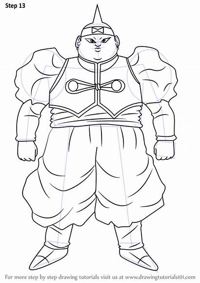 Android Dragon Ball Draw Drawing Step Necessary