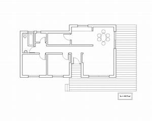 plan maison en l 100m2 m chambres tage plan plan maison 4 With beautiful agrandir sa maison prix 3 maison de plain pied de avec toiture 4 pans et 3 chambres