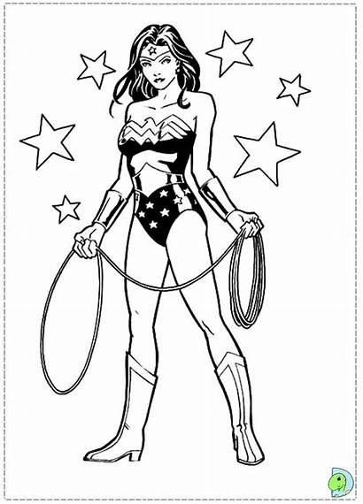 Woman Wonder Coloring Pages