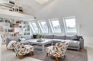 Kleine Dachwohnung Einrichten : dachwohnung einrichten 30 ideen zum inspirieren ~ Bigdaddyawards.com Haus und Dekorationen