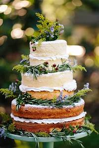 Naked Wedding Cake Inspiration for Your Wedding mywedding