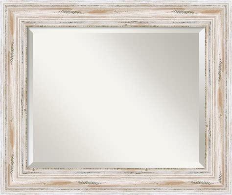 22x28 frame alexandria whitewash wall mirror traditional wall