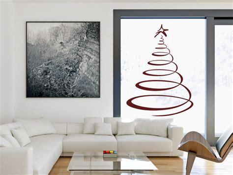 weihnachtsdeko fenster modern wandtattoos als weihnachtsdeko w 228 nde und fenster