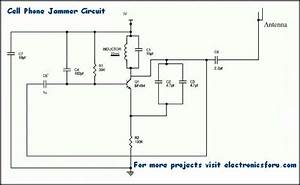 How To Design And Build A Simple Cell Phone Jammer Circuit