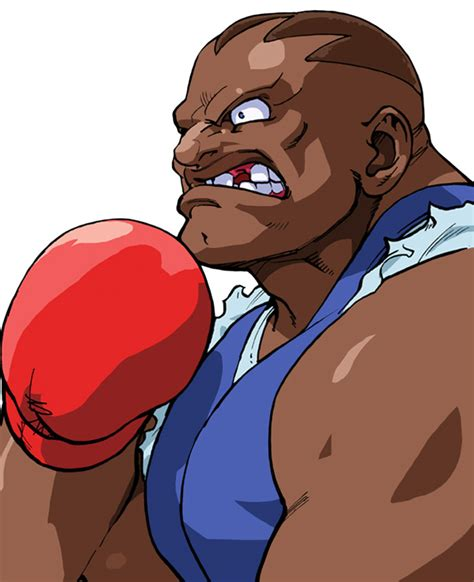 Balrog Official Portrait From Street Fighter Alpha 3