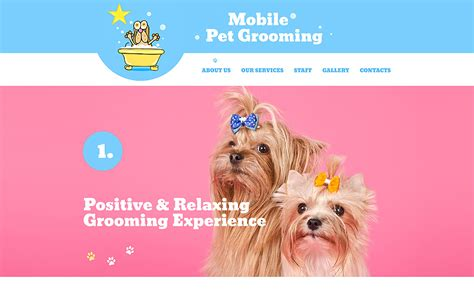pet carer website template