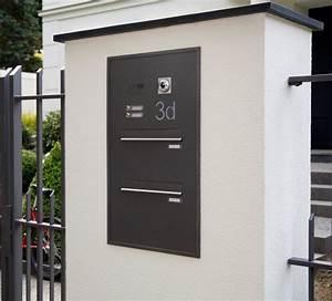 Briefkasten Mit Kamera : mauers ule f r briefkasten und klingel bauen in 2019 pinterest ~ Frokenaadalensverden.com Haus und Dekorationen