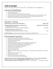 emergency room resume exles triage resume sle sle resume