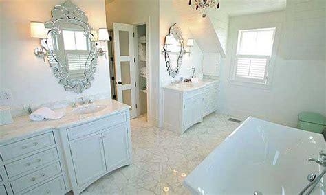 Bathroom Design With Unique Mirrors