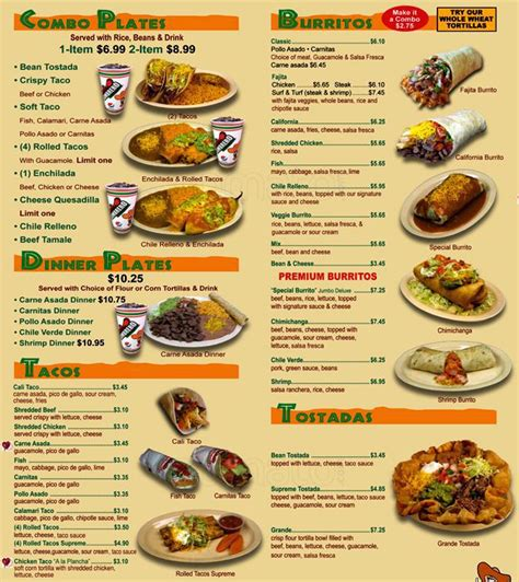 cuisine menu food menu pictures to pin on pinsdaddy