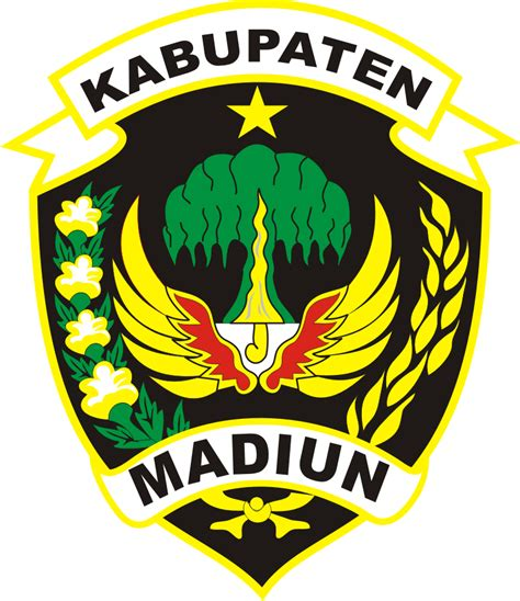 logo kabupaten madiun kumpulan logo indonesia