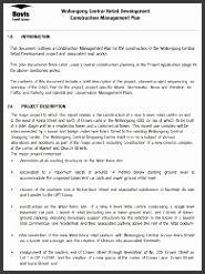 waste management plan template sampletemplatess