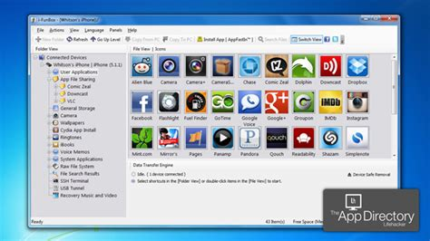 files on iphone app directory the best desktop file explorer for iphone