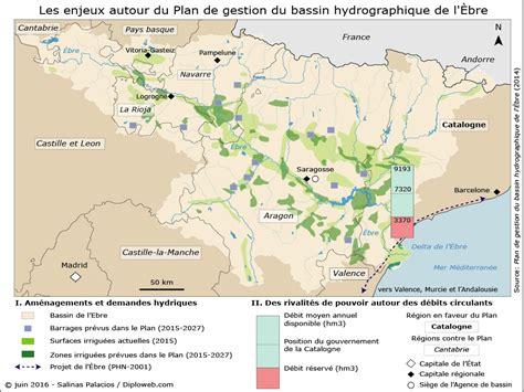 Comment On Dit Carte Du Monde En Espagnol by La Question De L Eau En Espagne Un Enjeu G 233 Opolitique