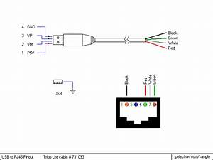 Apc usb to rj45 cable pinout rj11 cable wiring diagram for Rj45 to rj11 wiring diagram
