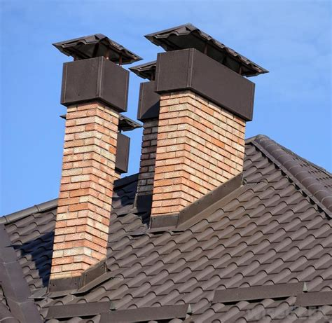 Chimney Roof & Roof Leak Chimney Box With Hardiplank Siding