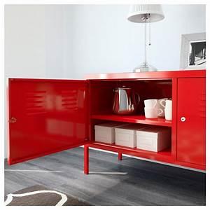 Buffet Metal Ikea : ikea ps cabinet red 119 x 63 cm ikea ~ Teatrodelosmanantiales.com Idées de Décoration