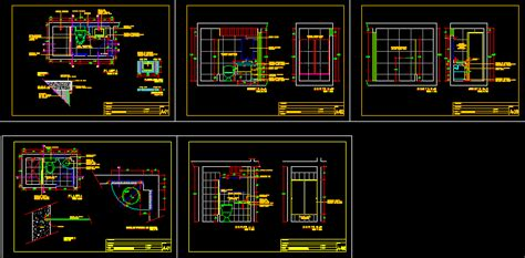 bathroom detail dwg detail  autocad designs cad