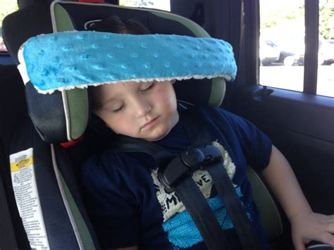 Toddler's Car Seat Head Support/ Head Band