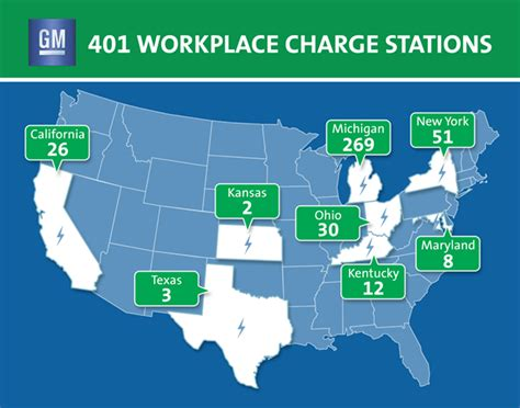 Charged EVs   GM makes 401 EV charging stations available
