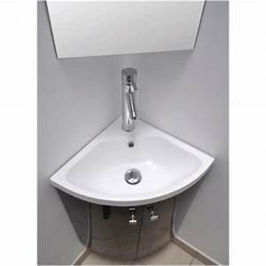 Meuble Vasque Angle : meuble vasque d 39 angle ~ Teatrodelosmanantiales.com Idées de Décoration
